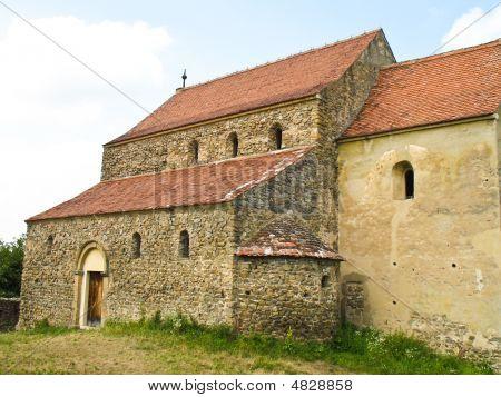 Medieval Evangelic Church In Cisnadie Romania