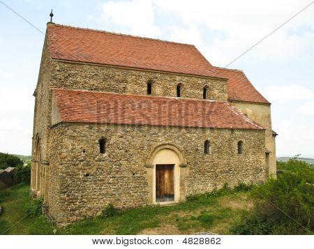 Medieval Evangelic Church In Cisnadie Romania 2