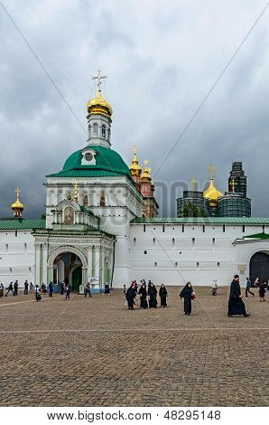 Holy Trinity St. Sergius Lavra, Moscow Region, Russia.