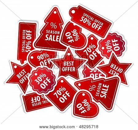 Shopping Tag Labels