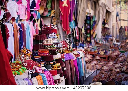 Moroccan market place