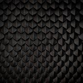 picture of python  - Fantasy dragon skin from black scales artifical - JPG