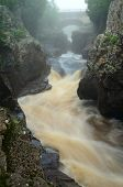 stock photo of temperance  - The Temperance River Temperance River State Park in Minnesota - JPG