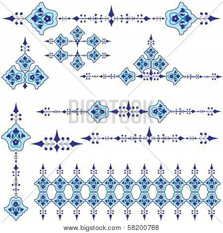 Oriental Ottoman Design Three