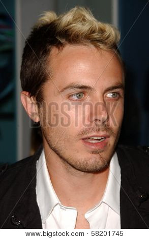 Casey Affleck at the OmniPeace Benefit To Stop Extreme Poverty in Sub-Saharan Africa. Kitson Men, Los Angeles, CA. 06-21-07