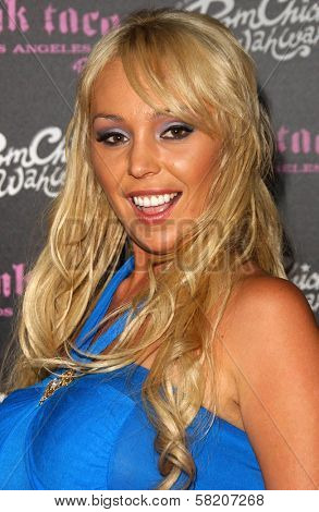 Mary Carey at the opening of a Los Angeles outpost of Pink Taco. Pink Taco, Westfield Century City Mall, Los Angeles, CA. 06-28-07