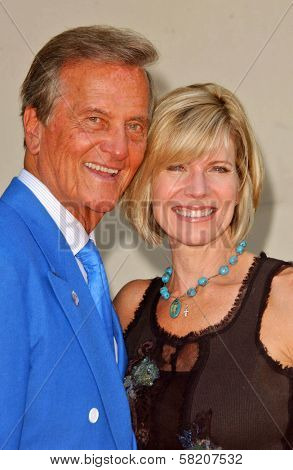 Pat Boone and Debby Boone at the Ceremony honoring Mike Curb with a star on the Hollywood Walk of Fame. Vine St, Hollywood, CA. 06-29-07
