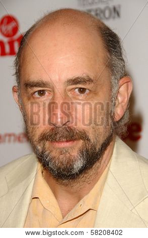 Richard Schiff at Rock The Kasbah presented by Virgin Unite. Roosevelt Hotel, Hollywood, CA. 07-02-07