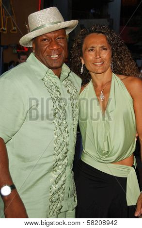 Ving Rhames and wife Deborah at the World Premiere of