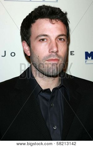 Ben Affleck at the celebration for the Oscar nominated films