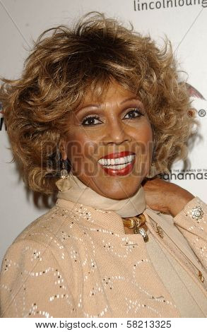 Ja'net DuBois at Ebony's Pre-Oscar Celebration