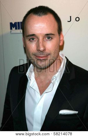 David Furnish at the celebration for the Oscar nominated films