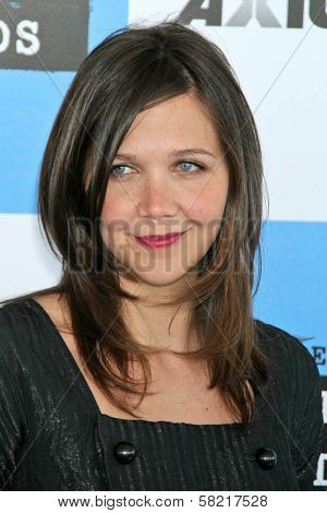 Maggie Gyllenhaal at the 2007 Film Independent's Spirit Awards. Santa Monica Pier, Santa Monica, CA. 02-24-07