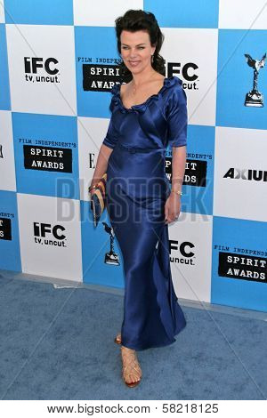Debi Mazar at the 2007 Film Independent's Spirit Awards. Santa Monica Pier, Santa Monica, CA. 02-24-07