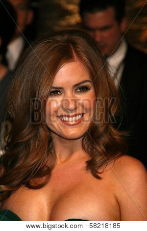 Isla Fisher at the 2007 Vanity Fair Oscar Party. Mortons, West Hollywood, CA. 02-25-07