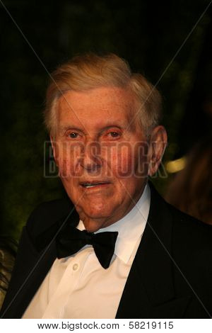 Sumner Redstone at the 2007 Vanity Fair Oscar Party. Mortons, West Hollywood, CA. 02-25-07