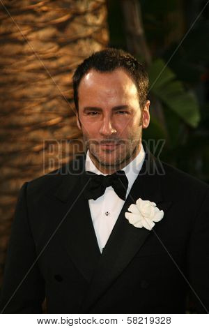 Tom Ford at the 2007 Vanity Fair Oscar Party. Mortons, West Hollywood, CA. 02-25-07