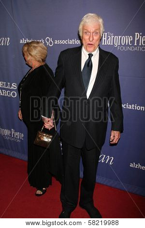 Dick Van Dyke and guest at the 15th Annual Alzheimer's Benefit