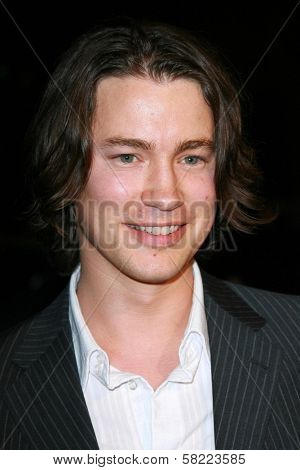 Tom Wisdom at the Los Angeles premiere of