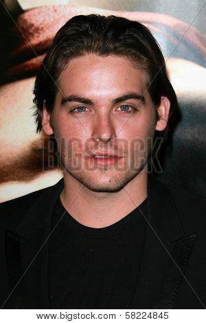 Kevin Zegers at the Los Angeles premiere of