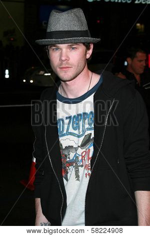 Shawn Ashmore at the Los Angeles premiere of
