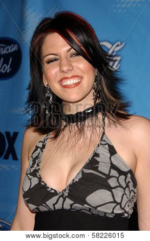Gina Glocksen at the American Idol Top 12 Finalists Party. Astra West, West Hollywood, CA. 03-08-07