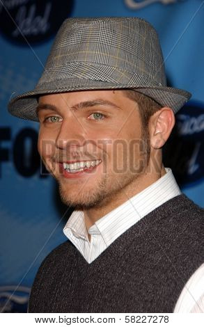 Chris Richardson at the American Idol Top 12 Finalists Party. Astra West, West Hollywood, CA. 03-08-07
