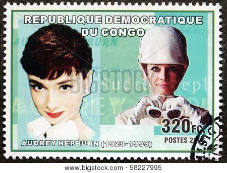 Audrey Hepburn Stamp