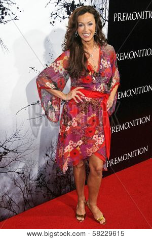 Sofia Milos at the World Premiere of