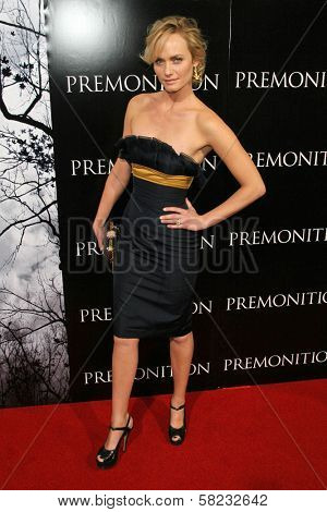 Amber Valletta at the World Premiere of