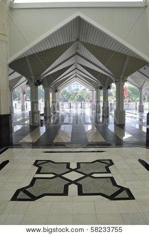 Corridor of As Syakirin Mosque