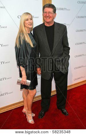Jody Britt and Jim Merritt at the VIP Launch of The Celebrity Vault. Celebrity Vault, Beverly Hills, CA. 03-15-07