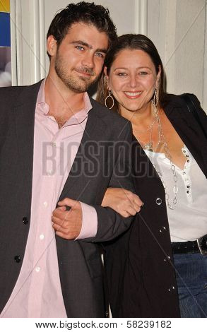 Michael Newcomer and Camryn Manheim at the Los Angeles Screening of