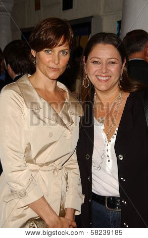 Carey Lowell and Camryn Manheim at the Los Angeles Screening of