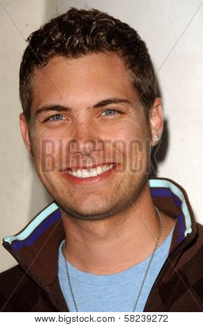 Drew Seeley at the Los Angeles Screening of
