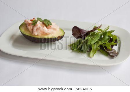 Prawns & Avocado