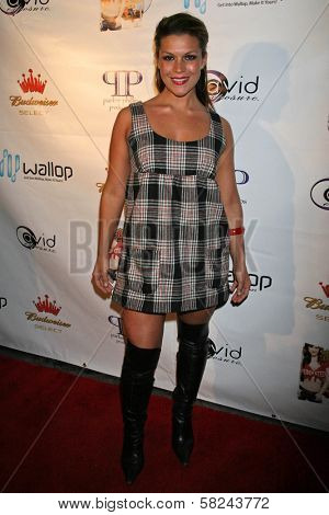 Luchana Gatica at the DVD Release Party for