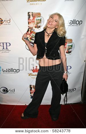 Riley Weston at the DVD Release Party for