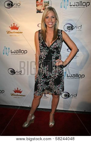 Olivia Hardt at the DVD Release Party for