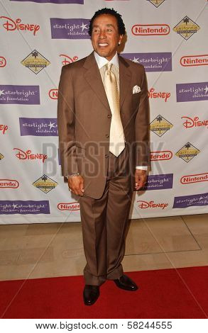 Smokey Robinson at Starlight Starbright Children's Foundation's