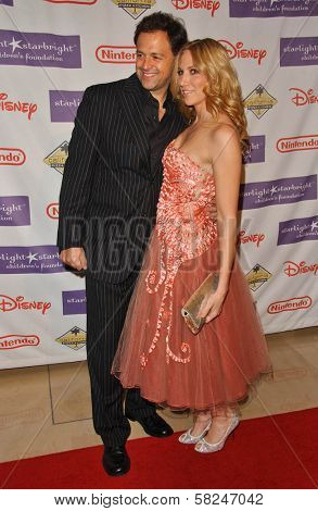 Joseph Gian and Deborah Gibson at Starlight Starbright Children's Foundation's