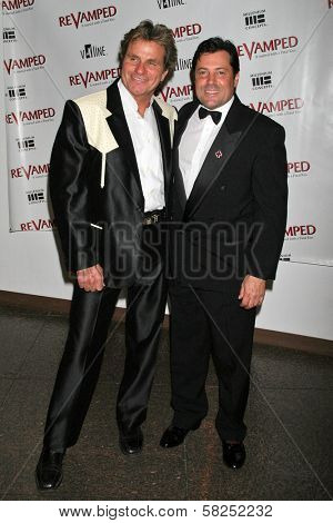 Martin Kove and Jeff Rector at the Los Angeles Premiere of