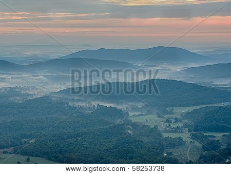 Sunrise From Blue Ridge Parkway