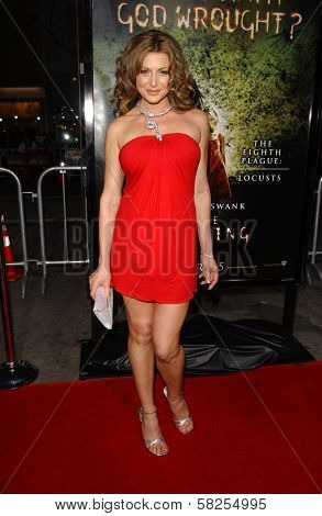 Cerina Vincent at the premiere of