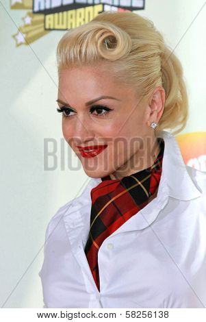 Gwen Stefani at Nickelodeon's 20th Annual Kids' Choice Awards. Pauley Pavillion, Westwood, CA. 03-31-07