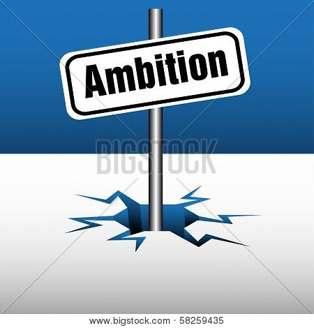 Ambition plate
