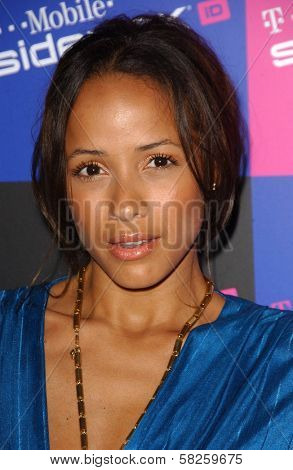 Dania Ramirez at the launch of T-Mobile Sidekick ID, T-Mobile Sidekick Lot, Hollywood, CA. 04-13-07