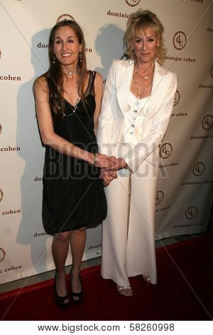 Dominique Cohen and Judith Light at the grand opening of the Dominique Cohen Flagship Jewelry Store. 501 N. Robertson Blvd., Los Angeles, CA. 04-05-07