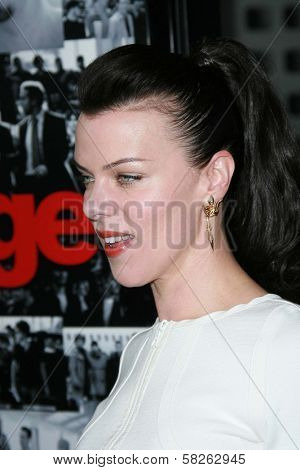 Debi Mazar at the premiere of