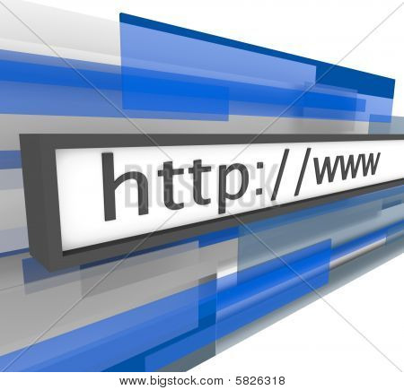 Website Address Bar - Http And Www